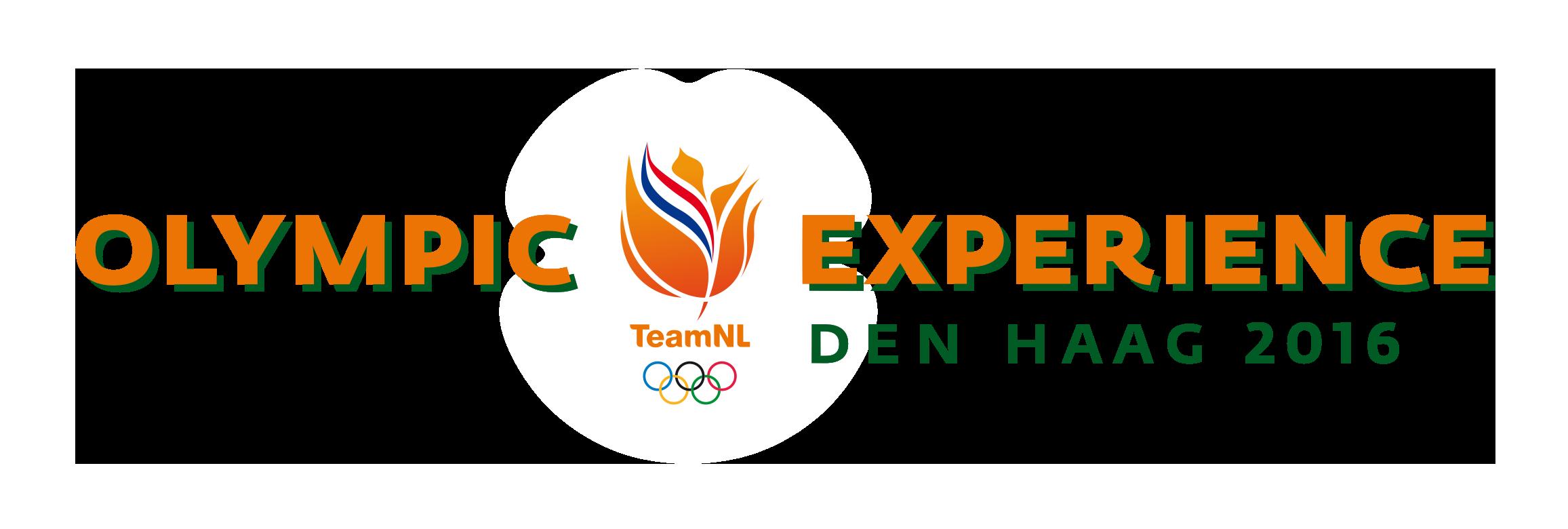 Olympic Experience 2016 logo horizontaal